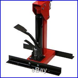 Heavy Duty 5500 LBS Auto Strut Coil Spring Compressor Hydraulic Cars Truck, Red