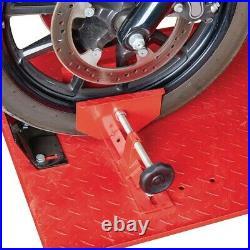 Heavy Duty Hydraulic ATV Motorcycle Lift 1000 LB (1/2 Ton) Bike Stand Jack Table