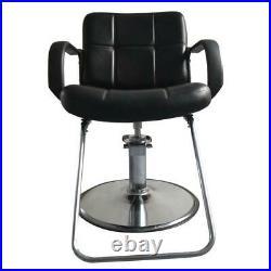 Heavy Duty Hydraulic Barber Chair Salon Hair Stylist Beauty Spa Furniture