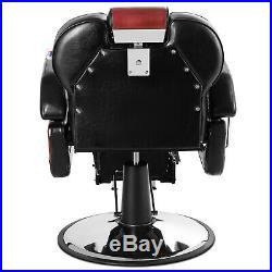 Heavy Duty Hydraulic Recline Barber Chair Salon Beauty Tattoo Profession Classic