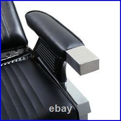 Heavy Duty Hydraulic Recline Barber Chair Salon Spa Beauty Equipment All Purpose