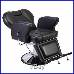 Heavy Duty Hydraulic Recline Barber Chair Salon Spa Beauty Shampoo Equipment