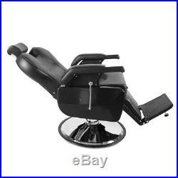 Heavy Duty Hydraulic Recline Barber Chair Salon Spa Beauty Styling Equipment