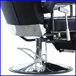 Heavy Duty Hydraulic Recline Barber Chair Shampoo Salon Beauty Spa Hair Styling