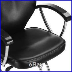 Heavy Duty Recline Hydraulic Barber Chairs Floor Salon Beauty Spa Shampoo
