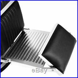 Heavy Duty Recliner Barber Chair Hydraulic All Purpose Salon Sofa Hair Equipment