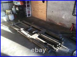 Heavy Duty Small Car Lift used in VW Repair Shop