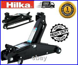 Hilka Car/Van/4x4 Trolley Jack 3 Tonne Long Chassis Heavy Duty Jack FAST LIFT