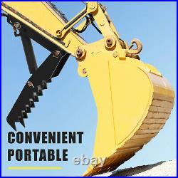 Hydraulic Backhoe Thumb 24 Weld On Heavy duty fit Mini Excavator