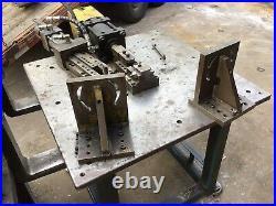 Hydraulic Press Fixture Table Bending Table Super heavy duty welding table
