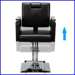 Hydraulic Recline Barber Chair Heavy Duty Salon Spa Beauty Shampoo Equipment