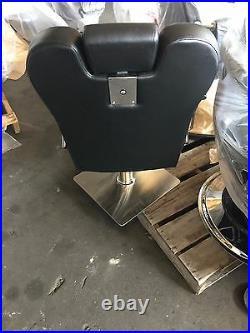 Hydraulic Recline Barber Chair Heavy Duty Shampoo Salon Beauty Hair Styling Spa