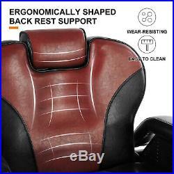 Hydraulic Reclining Barber Chair Heavy Duty Salon Beauty Spa Hair Equipment