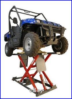 K&L Supply The New Mc655R Heavy Duty Hydraulic Motorcycle Lift 2000 Capacity
