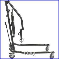 McKesson Hydraulic Patient Lift, Steel, 450 lbs. Capacity, Heavy Duty 1 Each