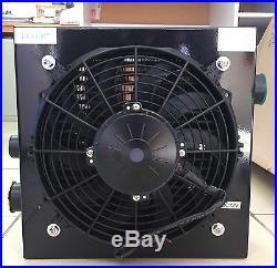 NEW 120L/min HEAVY DUTY HYDRAULIC OIL COOLER with DC12V FAN (ECO-07)