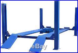 NEW 14K 14,000 LB Heavy Duty Four Post Lift, Cable Driven Auto Lift