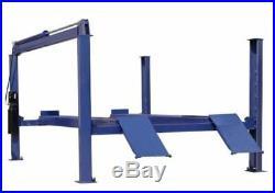 NEW 14K 14,000 LB Heavy Duty Four Post Lift, Chain Driven Auto Lift