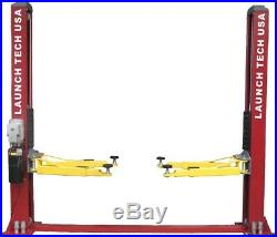 NEW Launch 9,000 lb. Symmetric 2 Post Auto Lift Car Hoist FREE Truck Adapters