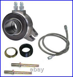 NEW RAM HYDRAULIC THROWOUT BEARING FOR STOCK CLUTCHES, HEAVY-DUTY, With LINE, FITTING