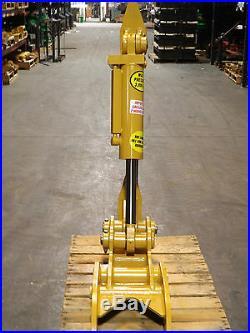New 12 x 35 Heavy Duty Hydraulic Thumb for Backhoe