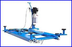 New 60 High Titan 6,000 lbs. Mid-Rise Scissor Lift with Free Adapters 110V
