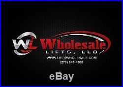 New 6,000 lbs. Mobile, Low Profile, Single-Column Automotive Lift