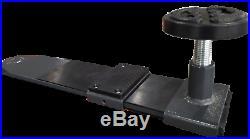 New 6,600 LB Auto Scissor Lift Car Hoist 110V, 51 High, withFREE Truck Adapters