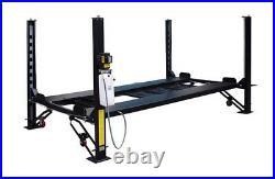 New 8,000 lbs. 4-Post Parking Storage Lift Basic Model No Accessories 110V