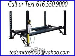 New 8,000 lbs. HD 4-Post Car Auto Lift with Ramps Special Promotional Price