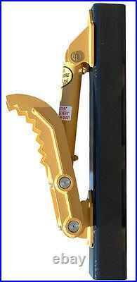 New 8 x 28 Heavy Duty Hydraulic Thumb for Caterpillar Mini-Excavators