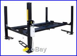 New 9,000 lbs. HD 4-Post XLT Truck Auto Lift Extra Long & Tall Complete Package