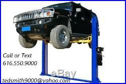 New APlus 10,000 LB 2-Post Heavy Duty Auto Lift Car Hoist FREE Truck Adapters