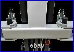 New TUXEDO TP9KAC-TUX 9,000 lb 2-Post Clear Floor Lift Asymmetric Arms 220V