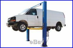 New Titan 10,000 LB 2-Post Direct Drive Clearfloor Lift, FREE Truck Adapters