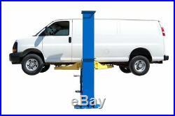 New Titan 12,000 lbs. 2-Post Auto Lift- Floorplate Model with Symmetric Arms