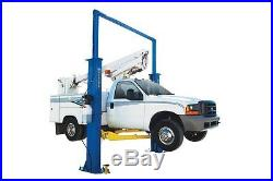 New Titan 15,000 lbs. 2-Post Auto Lift- Clearfloor Model with Symmetric Arms