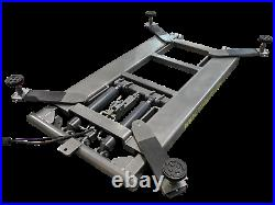 New Titan 6,600 lbs. Mid-Rise Scissor Lift with Free Adapters 110V