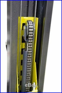 New Titan Professional 9000 lbs. 2-Post Lift, Asymmetric FREE Truck adapters