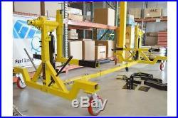 New Titan ROT-4500, 4500 lbs. Heavy Duty Deluxe Car Rotator Auto Rotisserie
