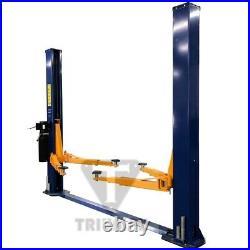 New Triumph 11,000 lbs. 2-Post Auto Lift FloorPlate Model 220V Free Adapters