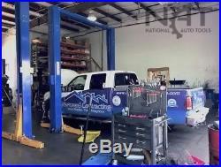 New Triumph 15,000 lbs. 2-Post Auto Lift Overhead Model Direct Drive Symmetric