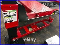 New Triumph 9000lbs. 4-Post Parking Lift Ramps Jack Tray Drip Trays Caster Kit