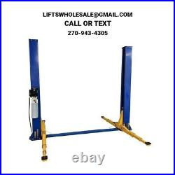 New Triumph 9,000 lbs. 2-Post Auto Lift Floorplate Model 3 Stage Arms 220V