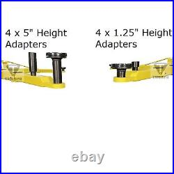 New Triumph 9,000 lbs. 2-Post Auto Lift Overhead Model Asymmetric Arms 220V