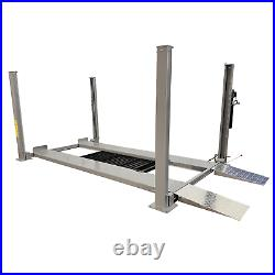New Triumph NSS-8 Classic 8,000 lb 4-Post Service and Storage Lift. 2.5 Shorter