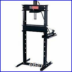 Omega 25 Ton Heavy Duty Hydraulic Shop Press with Hand Pump OME60253