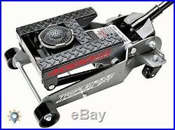 Portable Car Lift 2 Ton Floor Jack Hydraulic Motorcycle Heavy Duty 4000lb Triple