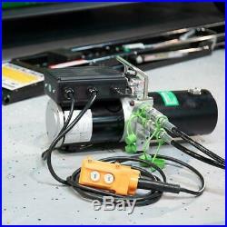 Portable Car Lift Floor Auto Hydraulic Jack Vehicle Electric Tool Pump 5,000 Lb