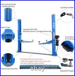 Post Lift Auto Hoist Car Vehicle 1PH 10000lbs Hydraulic 220V/110V 2 Sides Unlock